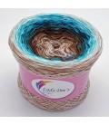 Hippie Lady - Agatha - 4 ply gradient yarn