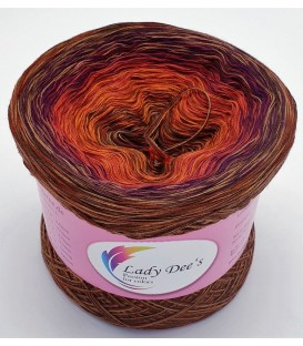 Hippie Lady - Audrey - Farbverlaufsgarn 4-fädig - Bild 1