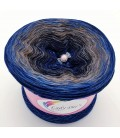 Hippie Lady - Blue - 4 ply gradient yarn
