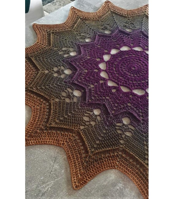 Oase der magischen Momente (Oasis of magical moments) - 4 ply gradient yarn - image 10