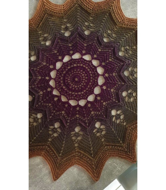 Oase der magischen Momente (Oasis of magical moments) - 4 ply gradient yarn - image 11
