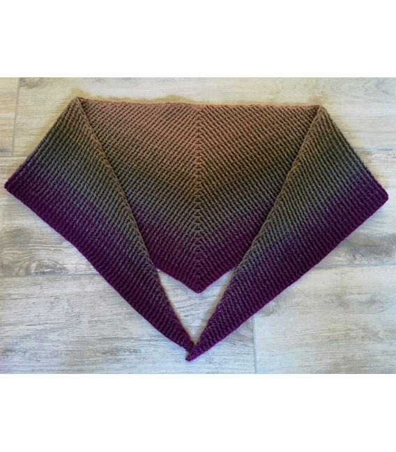 Oase der magischen Momente (Oasis of magical moments) - 4 ply gradient yarn - image 12