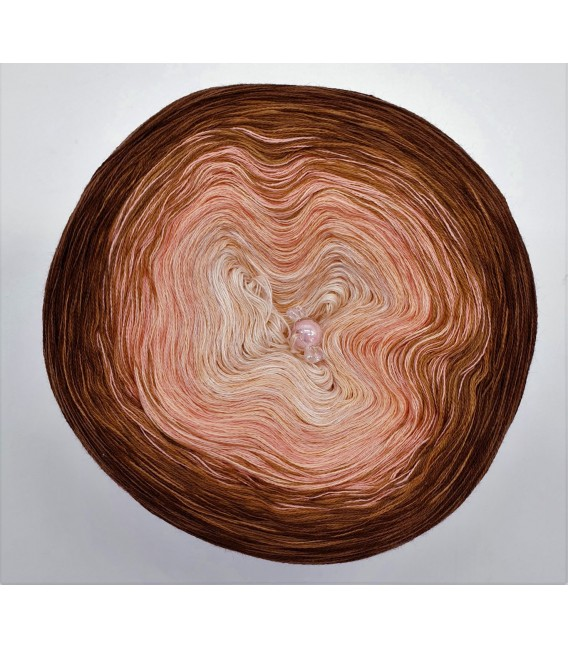 Apricot küsst Schokolade (Apricot kisses chocolate) - 4 ply gradient yarn - image 6