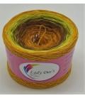 Hippie Lady - Gitta - 4 ply gradient yarn