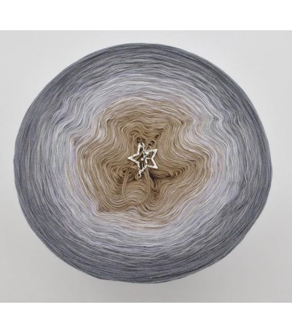 gradient yarn 4ply Orion - Medium gray outside 2