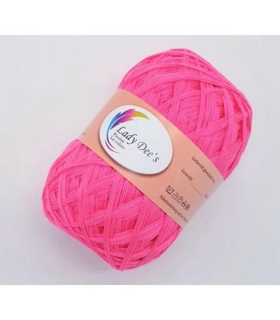 Lace Yarn - neon pink