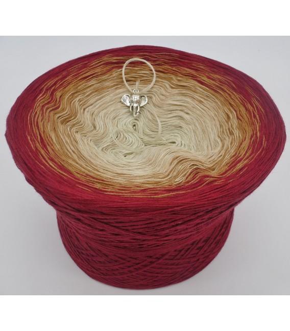 gradient yarn 4ply Indischer Zauber - Malaga outside