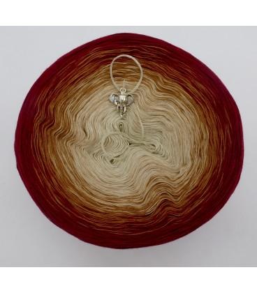 gradient yarn 4ply Indischer Zauber - Malaga outside 2