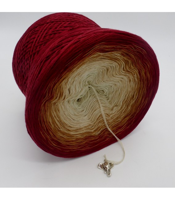 gradient yarn 4ply Indischer Zauber - Malaga outside 3
