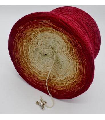 gradient yarn 4ply Indischer Zauber - Malaga outside 4