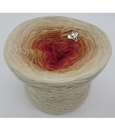 gradient yarn 4ply Indischer Zauber - Light beige outside