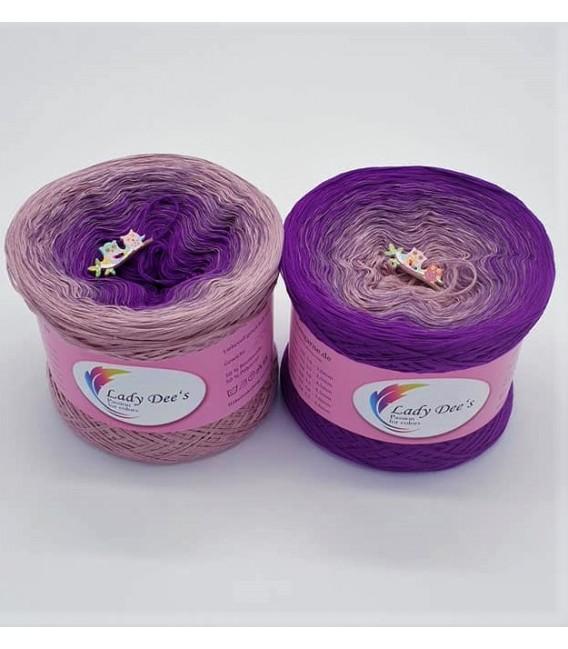 Träumendes Veilchen - gradient yarn