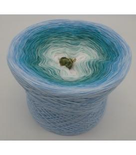 4 нитевидные градиента пряжи - Meerjungfrau - светло-голубой снаружи