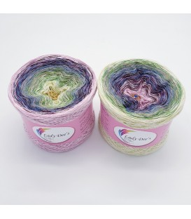 Oase im Frühlingswind - 4 ply gradient yarn
