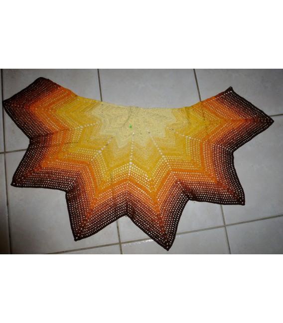 gradient yarn 4ply Wüstenblume - Vanilla outside 5