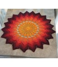 Ikarus - crochet Pattern - star blanket - english