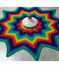 Sirius - crochet Pattern - star blanket - english