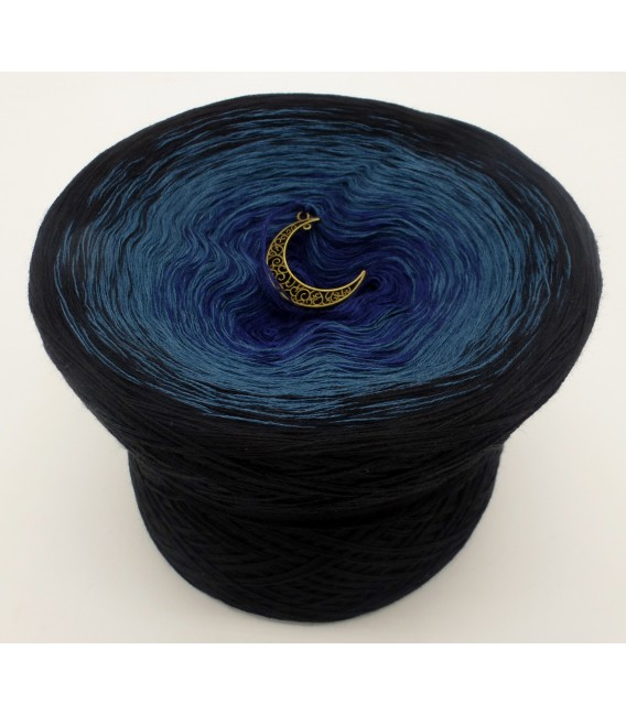 gradient yarn 4ply Dunkle Nacht - Black outside