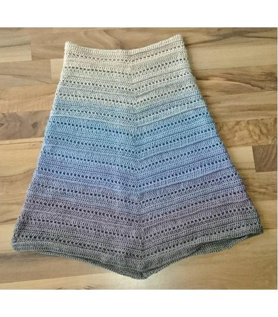 gradient yarn 4ply Weg zum Glück - taupe outside 5