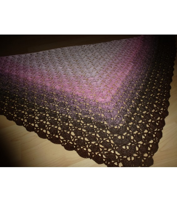 gradient yarn 4ply Sugar Babe - Pastel pink outside 5
