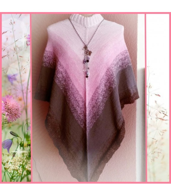gradient yarn 4ply Sugar Babe - Pastel pink outside 6