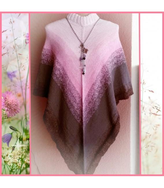 4 нитевидные градиента пряжи - Sugar Babe - пастельный розовый снаружи 6