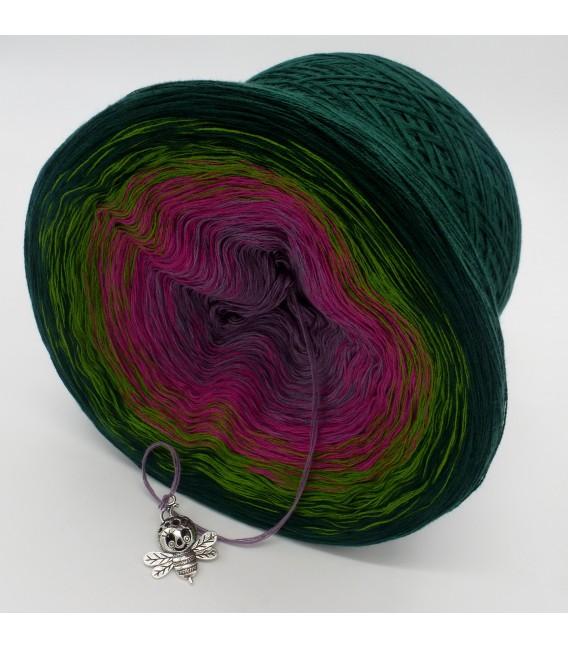 gradient yarn 4ply Blühende Heide - fir green outside 4