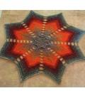Estella - crochet Pattern - star blanket - german