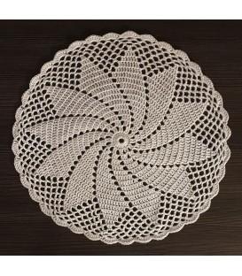Ivory - patron au crochet - couverture étoile - anglais