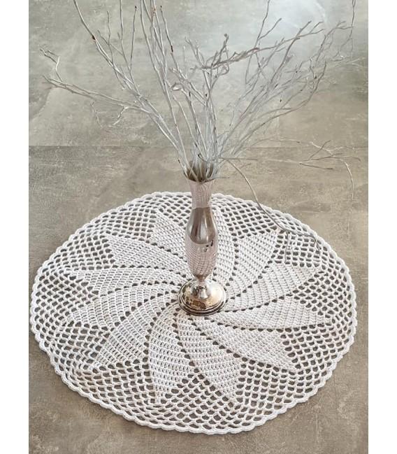 Ivory - crochet Pattern - star blanket - english