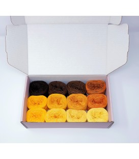 treasure chest - Land der Sonnenblumen - gradient yarn