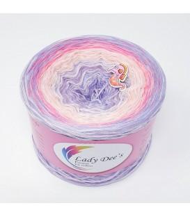 Hippie Lady - Sugar - 4 ply gradient yarn
