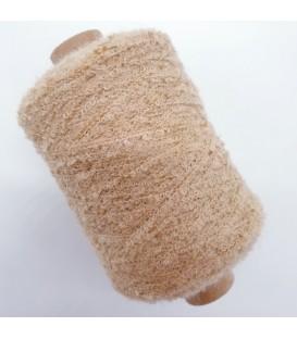 Auxiliary yarn - Bouclé yarn beige - 500m