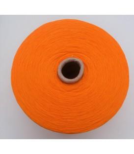 Lace yarn tangerine - 1 ply