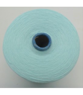 Lace yarn pastel turquoise - 1 ply