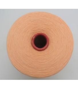 Lace yarn Apricot - 1 ply