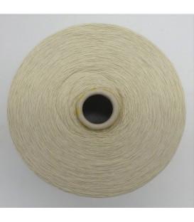 Lace yarn light beige - 1 ply