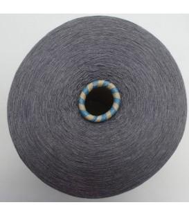 Lace yarn gray mottled - 1 ply