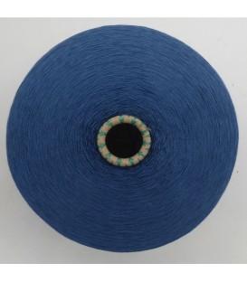 Lace yarn Prussian blue - 1 ply
