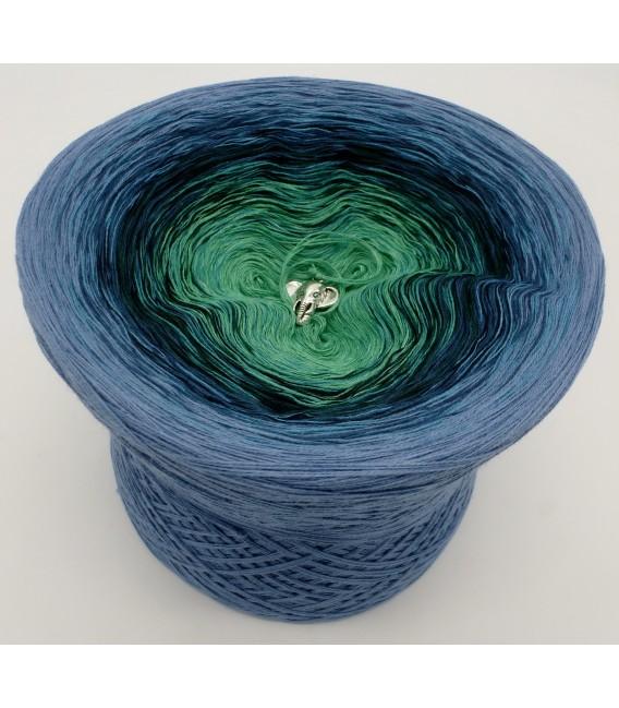 4 нитевидные градиента пряжи - Amazonas - Дав синий снаружи