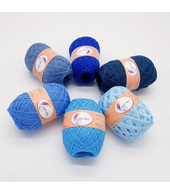 5 lace yarns Uni + 1 skein free - (30-43-07-51-50-44)