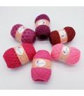 5 lace yarns Uni + 1 skein free - (03-58-02-76-59-90)