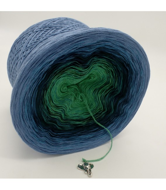 gradient yarn 4ply Amazonas - Pigeon blue outside 3