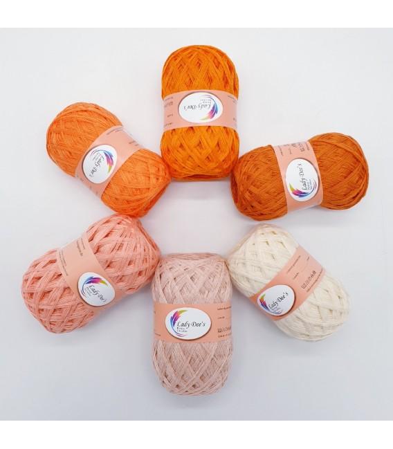 5 lace yarns Uni + 1 skein free - (60-65-10-89-15-67)
