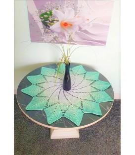 Andromeda - crochet Pattern - star blanket - german