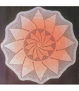 Cleopatra - crochet Pattern - star blanket - german