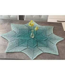 Glücksstern - crochet Pattern - star blanket - german