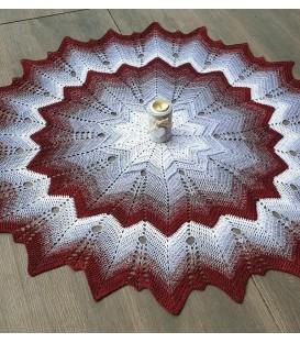 Super Nova - crochet Pattern - star blanket - german