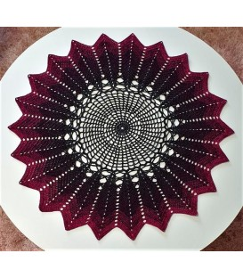 Fantastica - crochet Pattern - star blanket - german