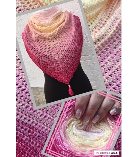 Vanilla Kiss - 4 ply gradient yarn - image 10
